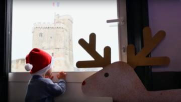 Le Père-Noël, à La Rochelle, est un marin :-)